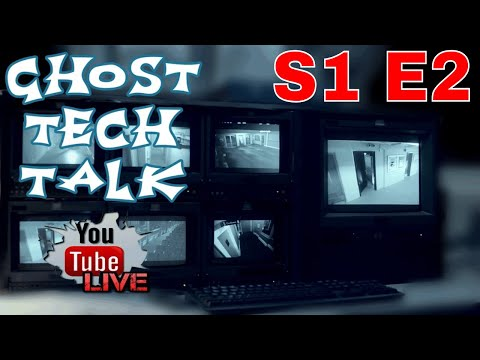 Ghost Tech Talk! 8pm EST. Come Chat and Talk Paranormal.