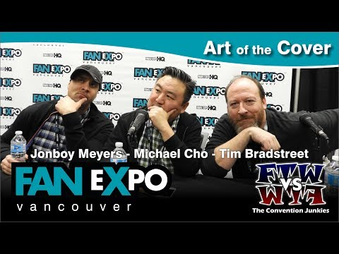 Art of the Cover - Fan Expo Vancouver 2017 Full Panel