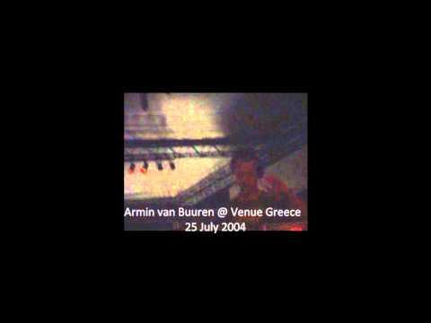 Armin van Buuren @ Venue Athens 25 July 2004