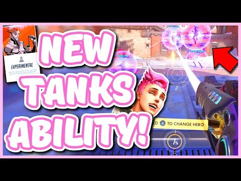Overwatch - NEW EXPERIMENTAL MODE GAMEPLAY (New Tank Abilities & 3-2-1 Comp)