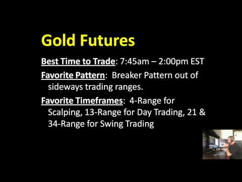 Gold Futures Contract Specifications; tick value, margin requirements, round term commissions