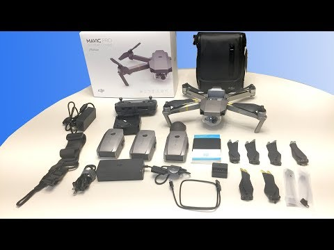 DJI Mavic Pro Platinum Fly More Combo Unboxing & Charging Tips
