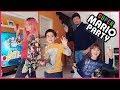 Super sfida di famiglia a Super Mario Party!!