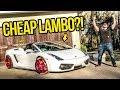 I Just Bought The Cheapest Lamborghini I