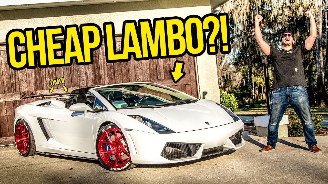 I Just Bought The Cheapest Lamborghini In The Country Youtube