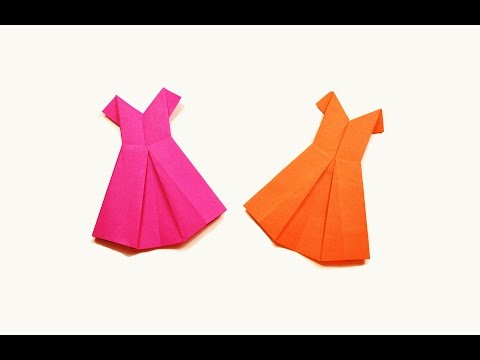 How to make a paper Dress?
