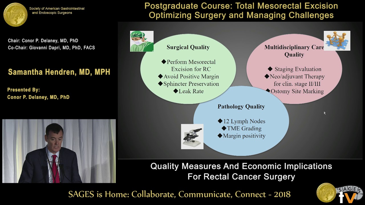 Quality measures & economic implications for rectal cancer surgery
