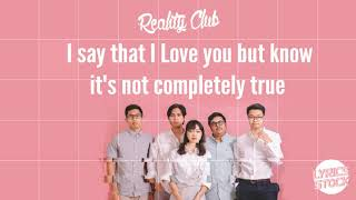 Reality Club - For Lack Of A Better Word (Lyrics) 🎵