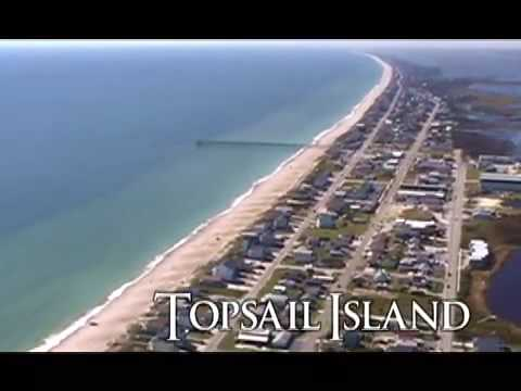 Topsail Island Nc Video Tour And