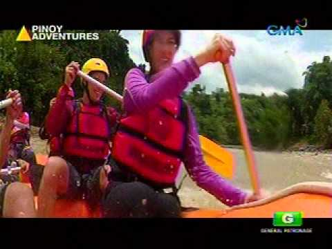 Davao Wildwater Adventure nina Richard Gutierrez at Marian Rivera