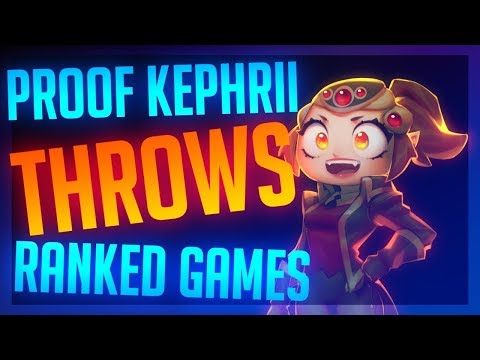 Proof Kephrii Throws Ranked Games