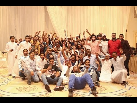 ff52735fd حفل الإفطار السنوي الرمضاني لمنسوبي شركة سوق كوم بفرع جدة - YouTube