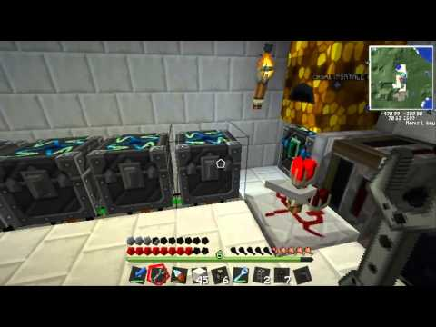 Minecraft: Technic Let's Play #26: Rotary Macerator & Induct