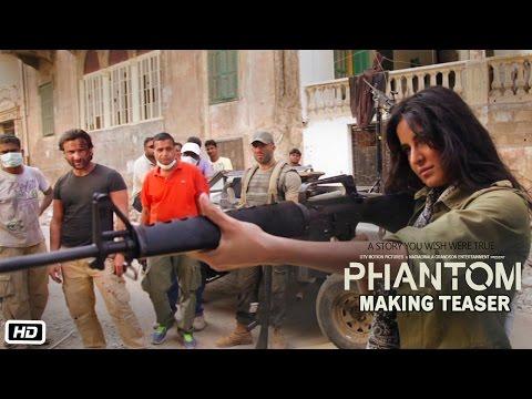 Phantom | Making Teaser | Directed by Kabir Khan | Saif Ali Khan, Katrina Kaif