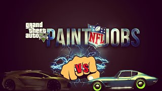 GTA 5 Online - NFL Paint Jobs Cowboys, Packers, 49ers, + More! GTA 5 Paint Job Guide! (GTA V)