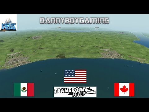 Transport Fever The Mods USA Canada And Mexico Rework Complete