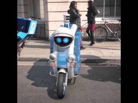 Domino's Driverless Delivery Vehicle *Sneak Peek*