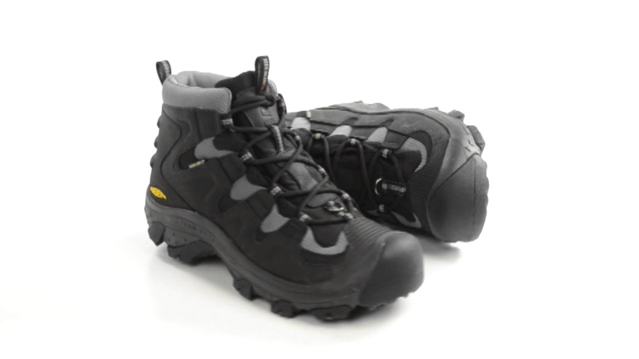 Keen Growler Hiking Boots - Waterproof Insulated (For Men) - YouTube