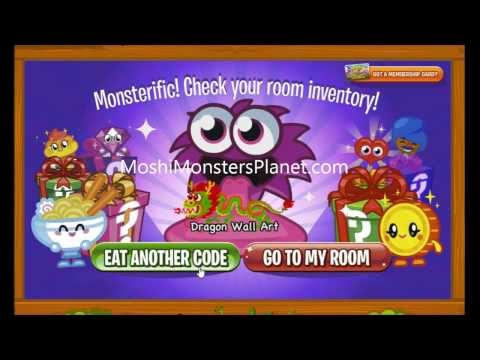 Moshi Monsters Furniture and Decoration Codes - Cheats, Tips, Secrets