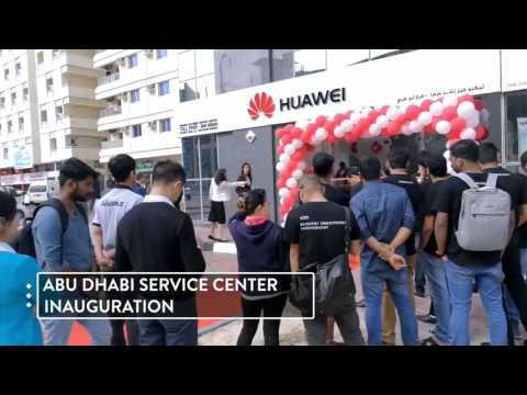 HUAWEI Customer Service Center Inauguration in AbuDhabi. #UAE #HuaweiService #AbuDhabi #Service