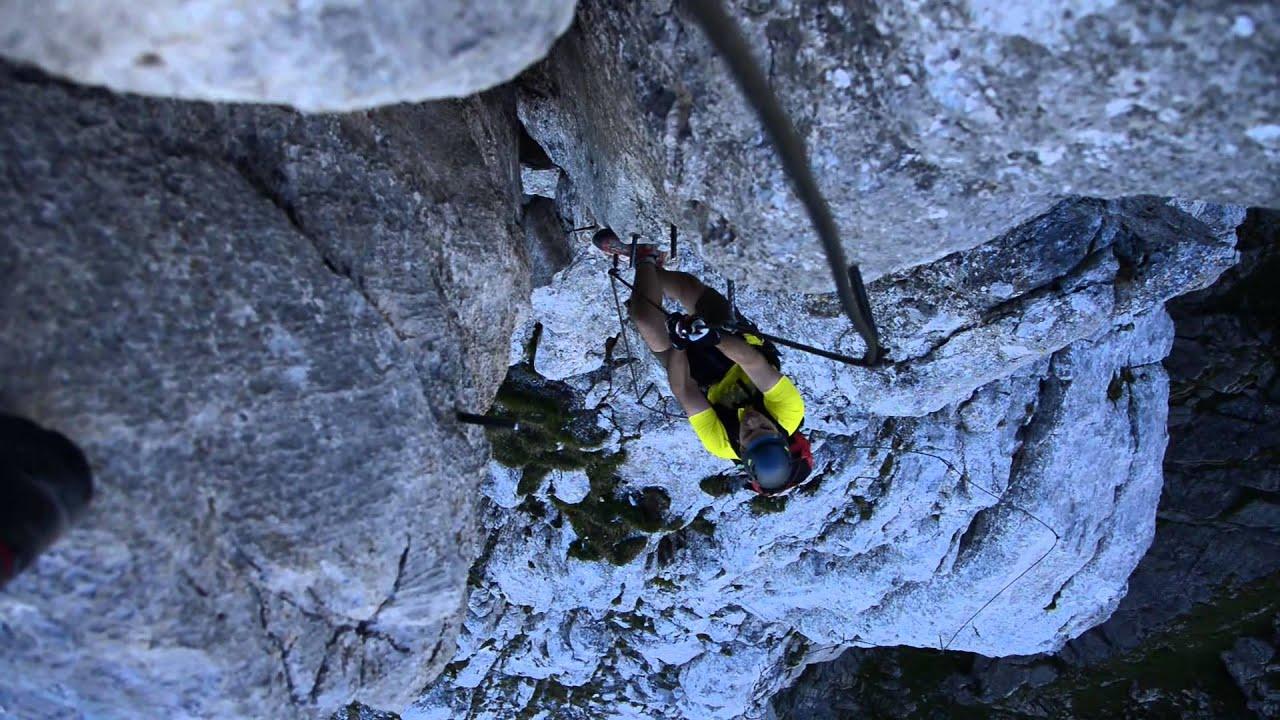 Klettersteig Ehrwald : Tajakante klettersteig youtube