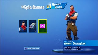 "New Fortnite PlayStation Plus ""Prodigy"" Skin Gameplay"