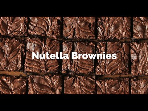 Nutella Brownies Recipe | Yummy Ph