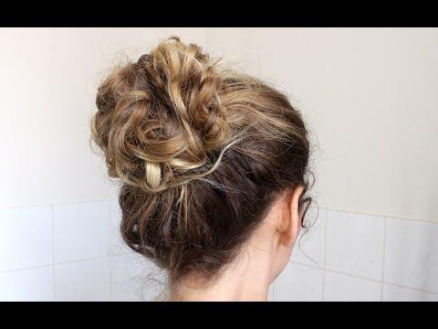 1 tuto coupe cheveux carr plongeant bob haircut tut doovi. Black Bedroom Furniture Sets. Home Design Ideas