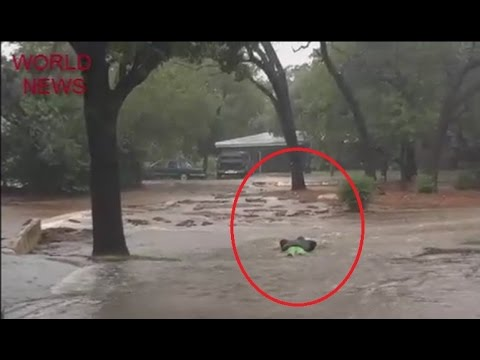 Flood Disaster In Austin Texas Youtube