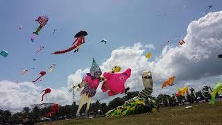 Festival LAYANG-LAYANG INTERNASIONAL, Pangandaran INDONESIA 2018
