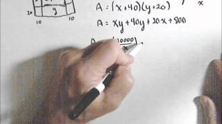 Constrained Optimization, Example 1