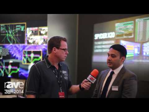 ISE 2014: Mahesh Singh Welcomes rAVe to the Christie Stand
