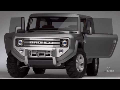 THE JEEP FORD BRONCO: MANUAL TRANSMISSION LIKELY