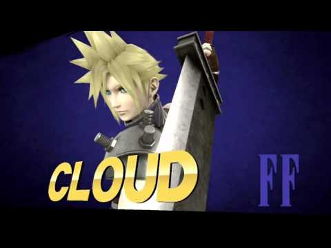 Smash U: cloud is every player online  (including me lol) edition