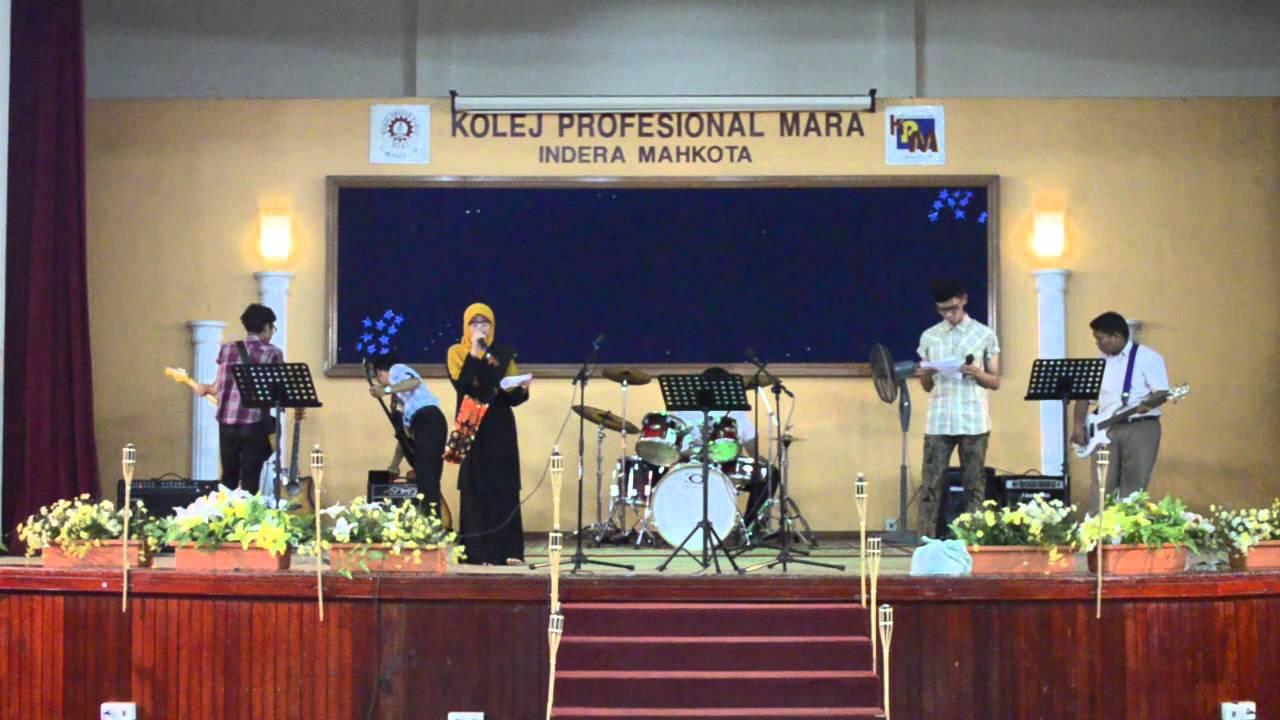 Sambutan Minggu Merdeka Kolej Profesional Mara Indera Mahkota Live Band Youtube