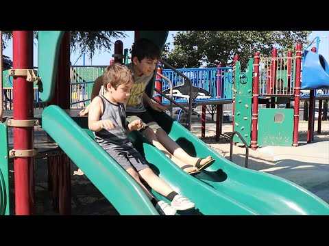 Having Fun At The Park With The Kids - Heghineh Family Vlogs