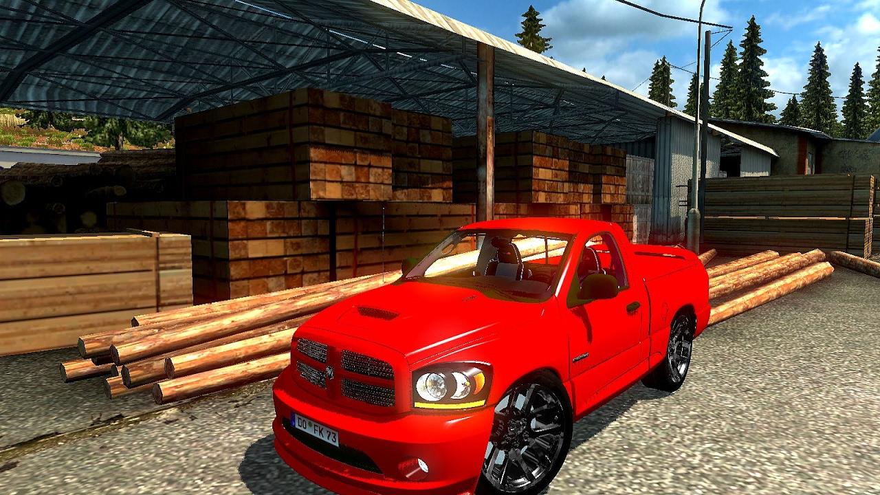 Dodge Ram Ets2 Euro Truck Simulator 2 Youtube