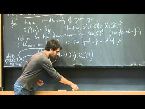 Differential geometry on the character variety - Julien Marché