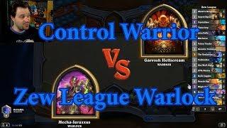 Rafaam Zoo Warlock vs Control Warrior | Hearthstone