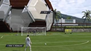 Как бить штрафной в FIFA 15