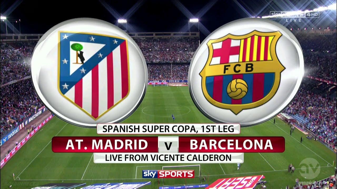 barca vs atletico madrid full match