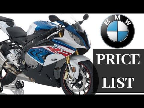 BMW Bikes Price List | Ex Showroom Price| Indian Auto Expo | IAE