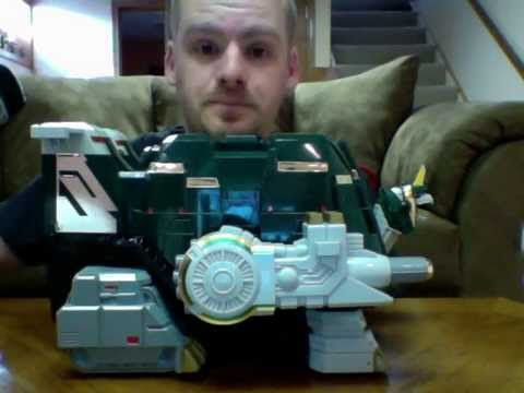 TOR THE SHUTTLEZORD Mighty Morphin Power Rangers Review!