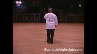 Shake It Off Line Dance Lesson by DJ Nacho at The Round Up Night Club