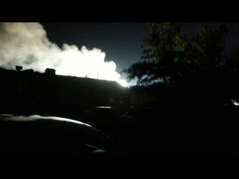Gardner Ks Substation explosion 9/13/13