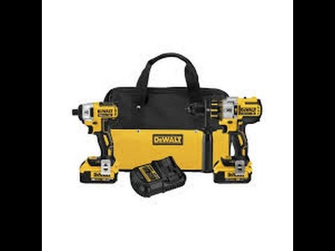 Dewalt 20v hammer drill and Impact driver combo kit YouTube