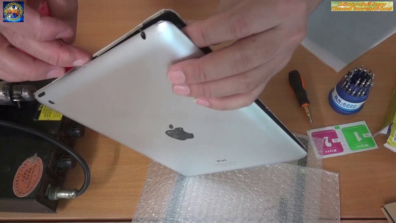How to Replace a Broken iPad Screen or touch screen easily – Thay màn hình cảm ứng Ipad cực dễ – DIY
