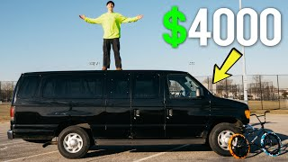 THE BEST $4000 INVESTMENT! (I BOЏGHT A 15 PASSENGER VAN)