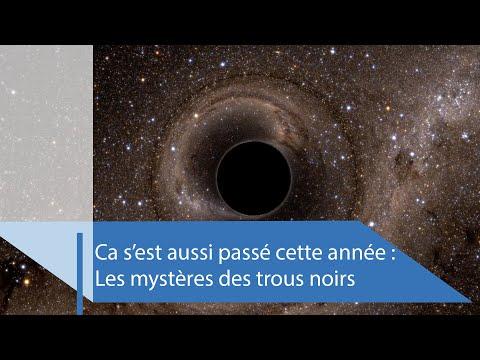2020, une année importante pour l'étude des trous noirs