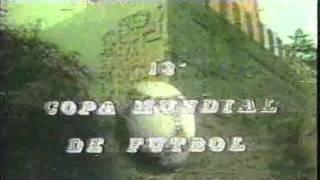 Presentación Canal 7 de Mendoza Mundial 1986 Mexico